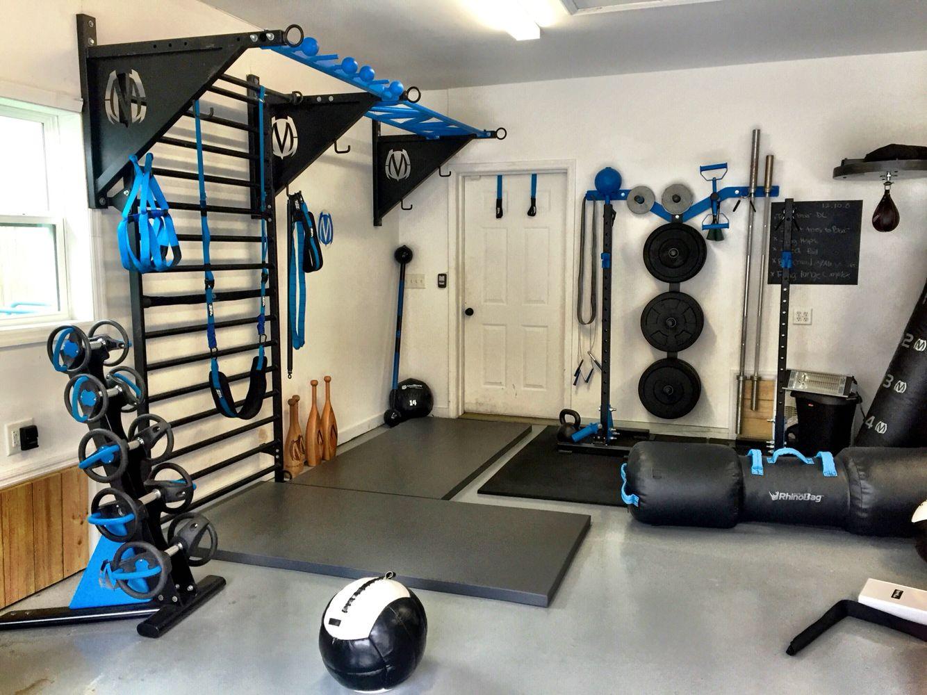 Home Gym Equipment Storage Ideas