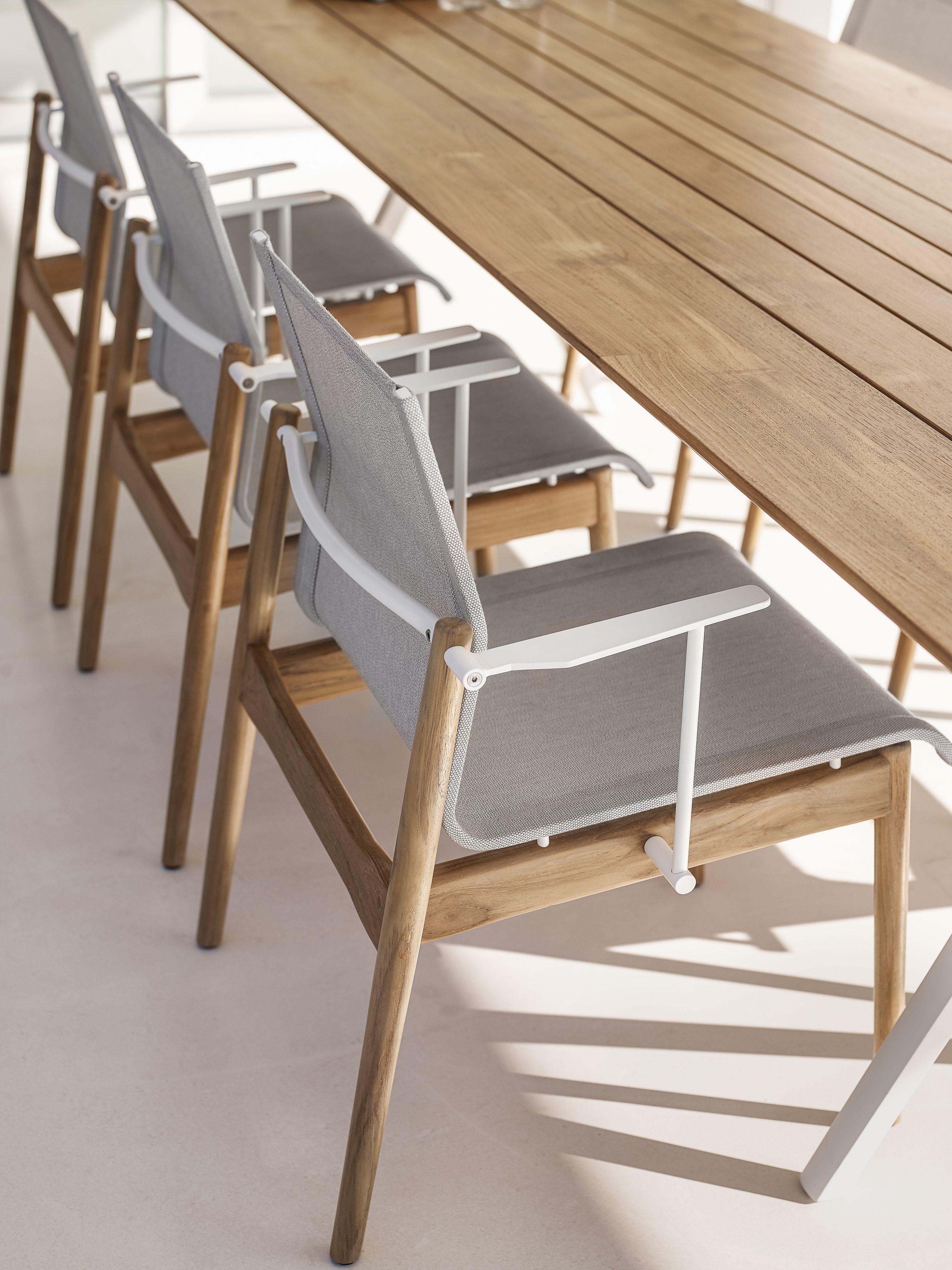 Gloster Sway Teak Chairs Split Table Teak Dining Chairs Teak Armchair Teak Chairs