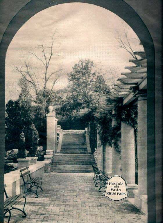 Pergola and Patio Krug Park St. Joseph Mo - http://ilovestjosephmo.com/pergola-and-patio-krug-park-st-joseph-mo