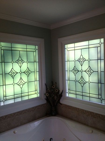 Attrayant Bradham Bevel Window Privacy Decorative Window Film Custom