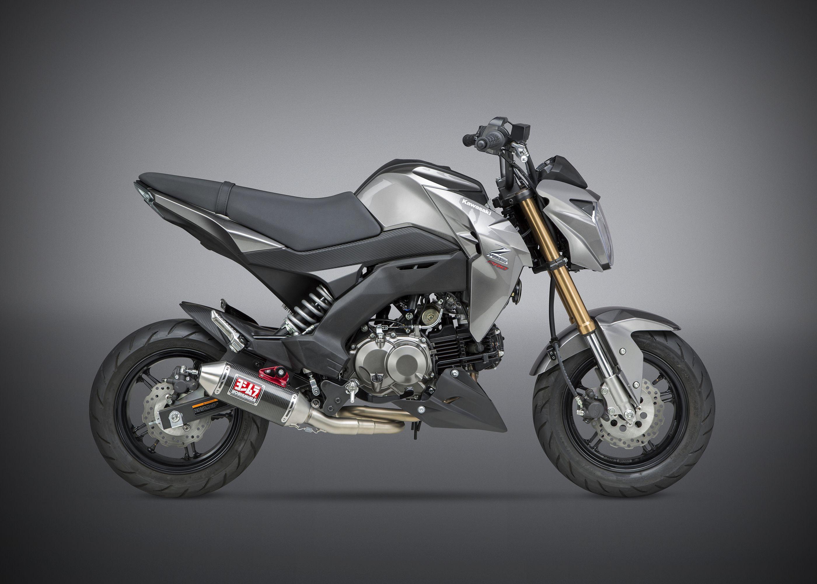 2017 Kawasaki Z125 Pro >> Yoshimura Releases 2017 Kawasaki Z125 Pro Applications