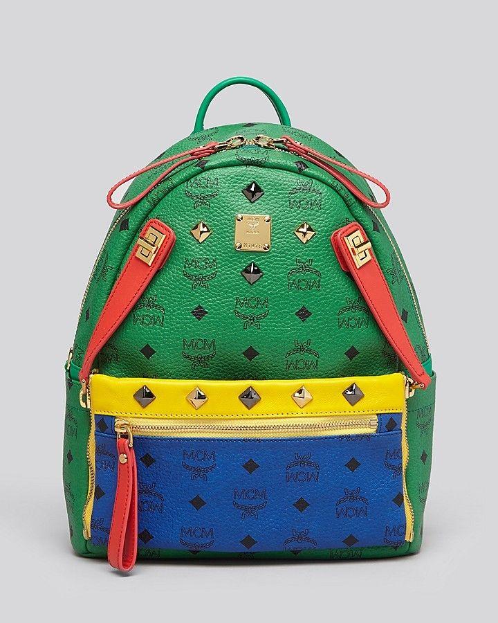 ca77ff41 MCM Backpack - Dual Stark Pocket Small on shopstyle.com | I want ...