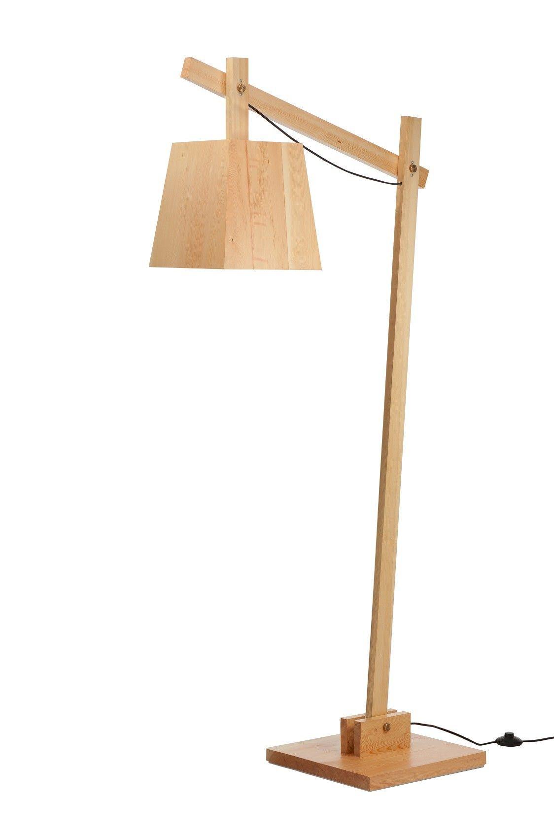 Replica Muuto Wood Floor Lamp -- The all-wood design on the replica Muuto - Replica Ferruccio Laviani Bourgie Lamp Small By Ferruccio Laviani