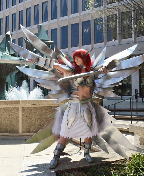 Erza Scarlet From Fairytail Cosplay Geekxgirls Articlephp
