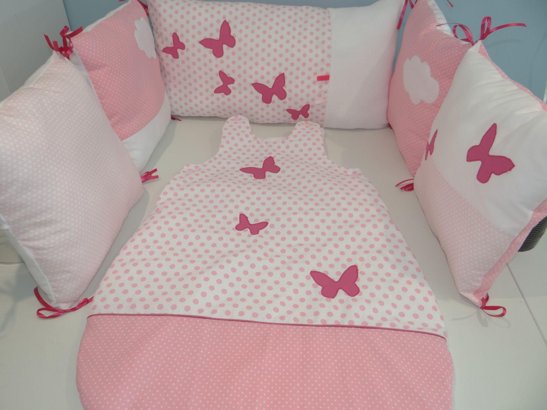 Tour De Lit Gigoteuse Pour Bebe Les Papillons Baby