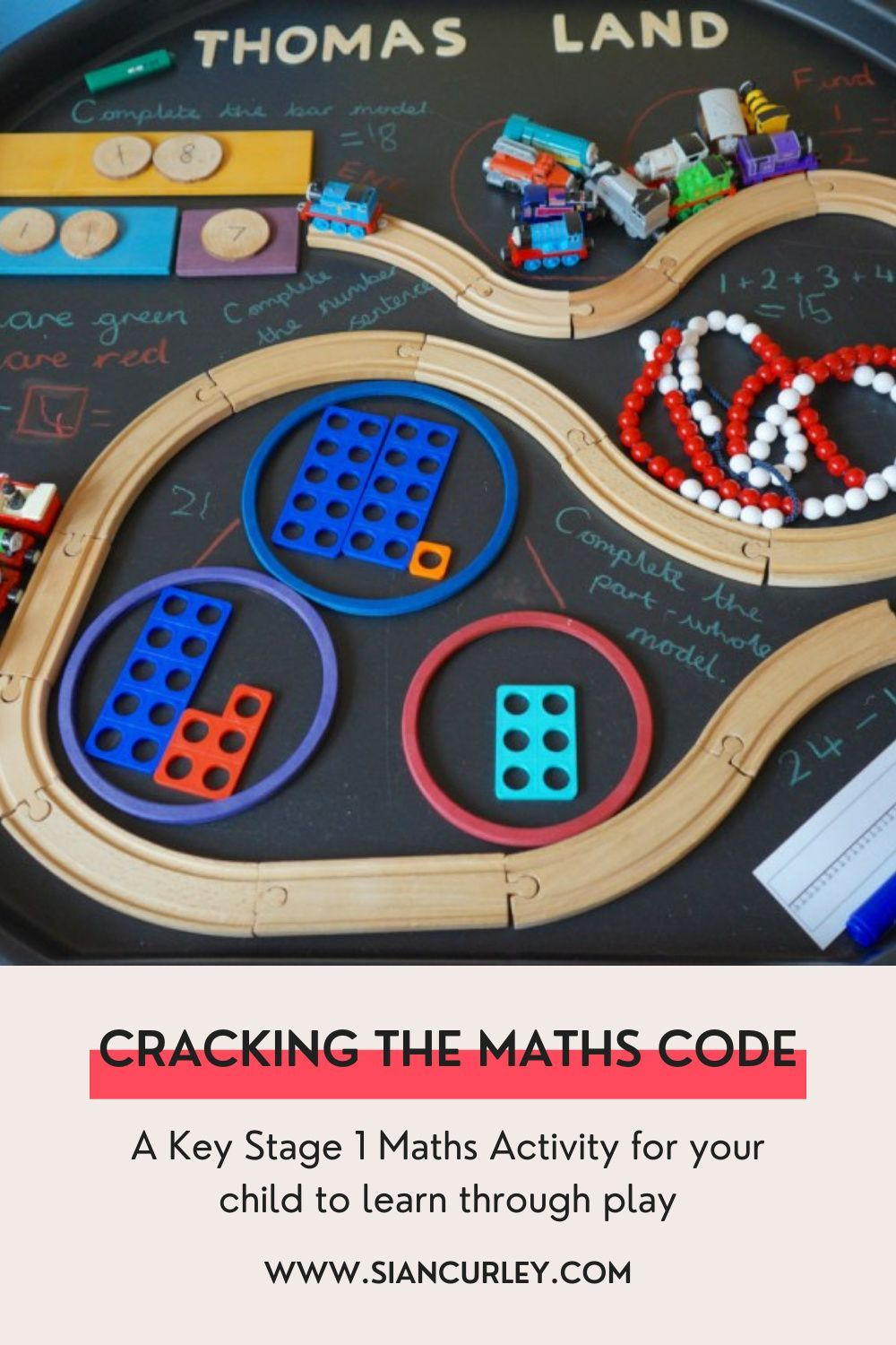 Cracking The Maths Code   A Tuff Tray Activity for Key Stage 1