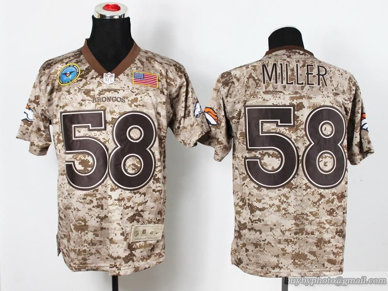 camouflage bronco jersey