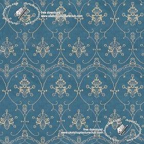 Textures Texture seamless   Damask velvet fabric texture seamless 19426   Textures - MATERIALS - FABRICS - Velvet   Sketchuptexture