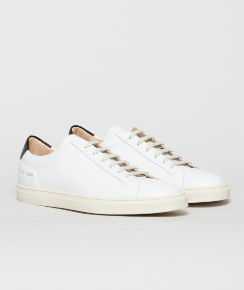 Leather ACHILLES RETRO Sneakers Spring/summer Common Projects yrKzu