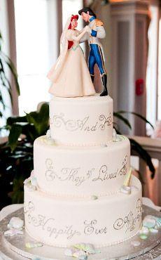 Inspiration Gallery Wedding Cakes Disney's Fairy Tale