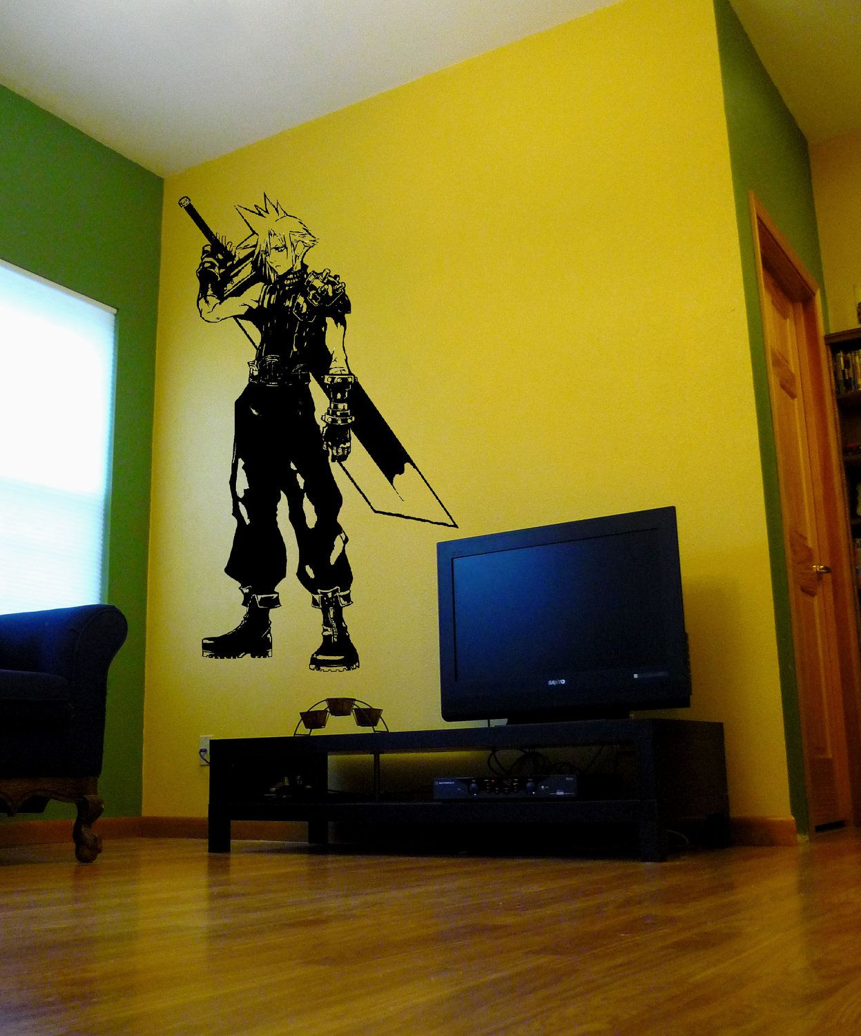 Final Fantasy 7 Cloud Strife Wall Decal - BEST SHOP EVER. He can ...