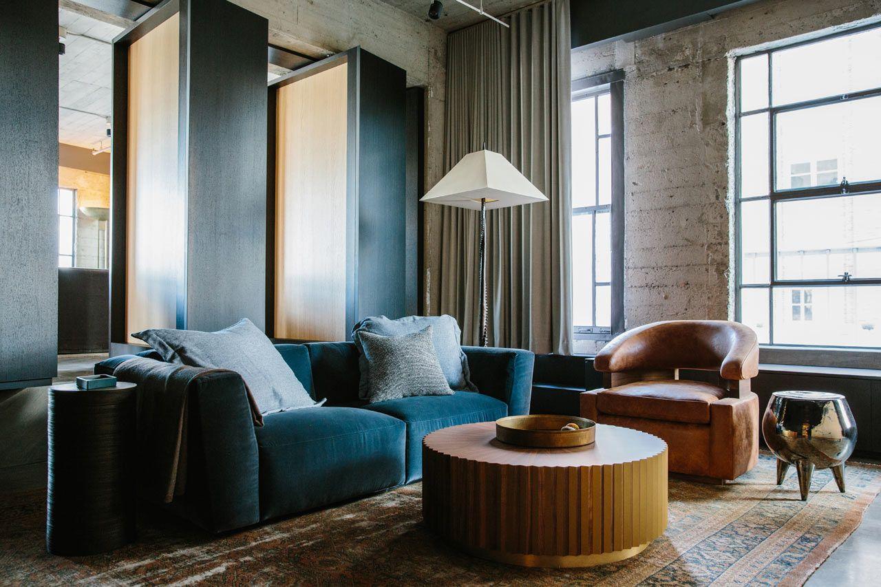 Loft in LA designed by Marmol Radziner   Loft interiors, Loft ...