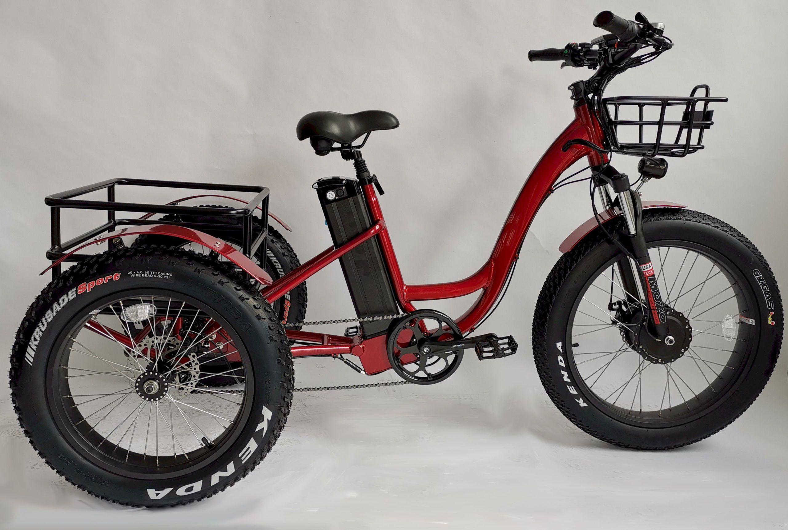 Fettreifen Elektrisches Dreirad Ft 1900x Elektrisches Dreirad