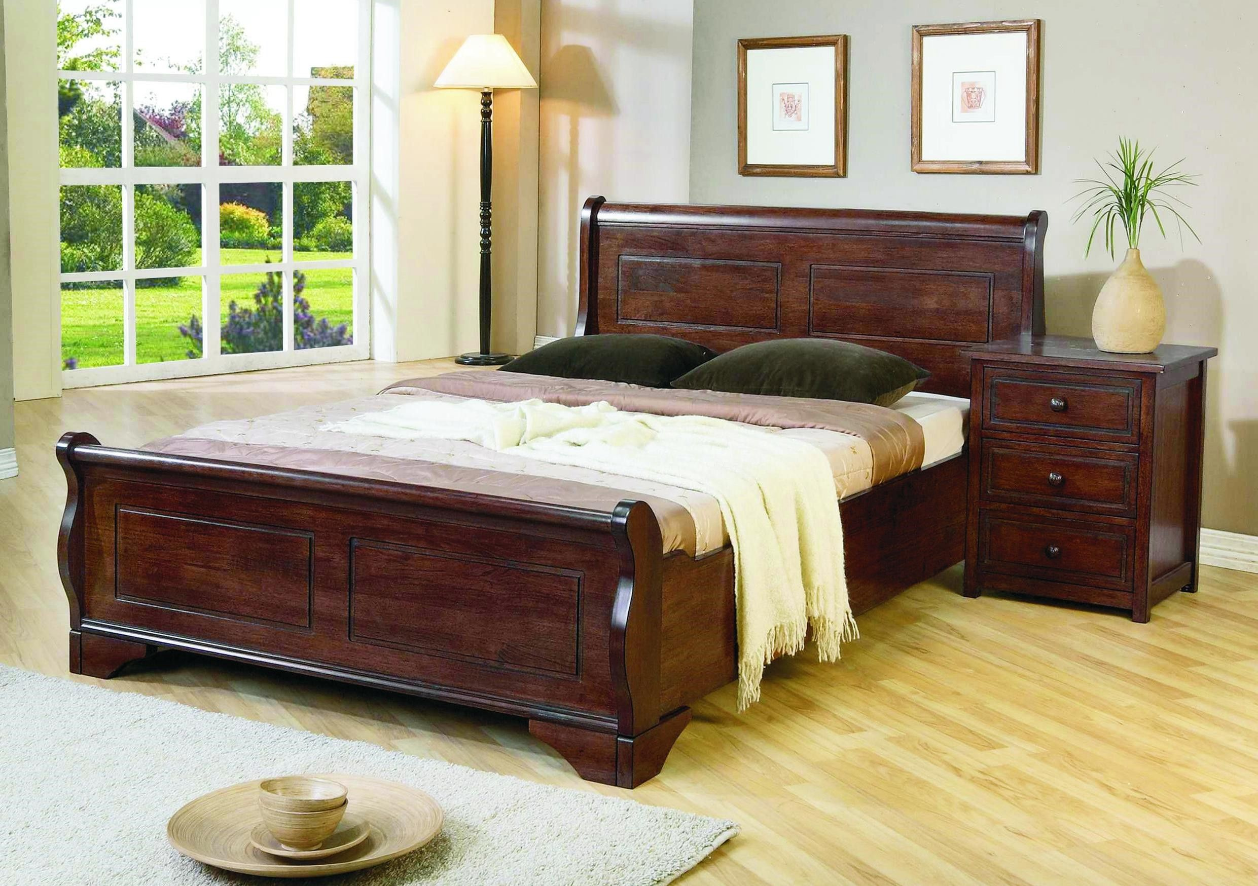 king bed frames and headboards | Double click on above image to ...