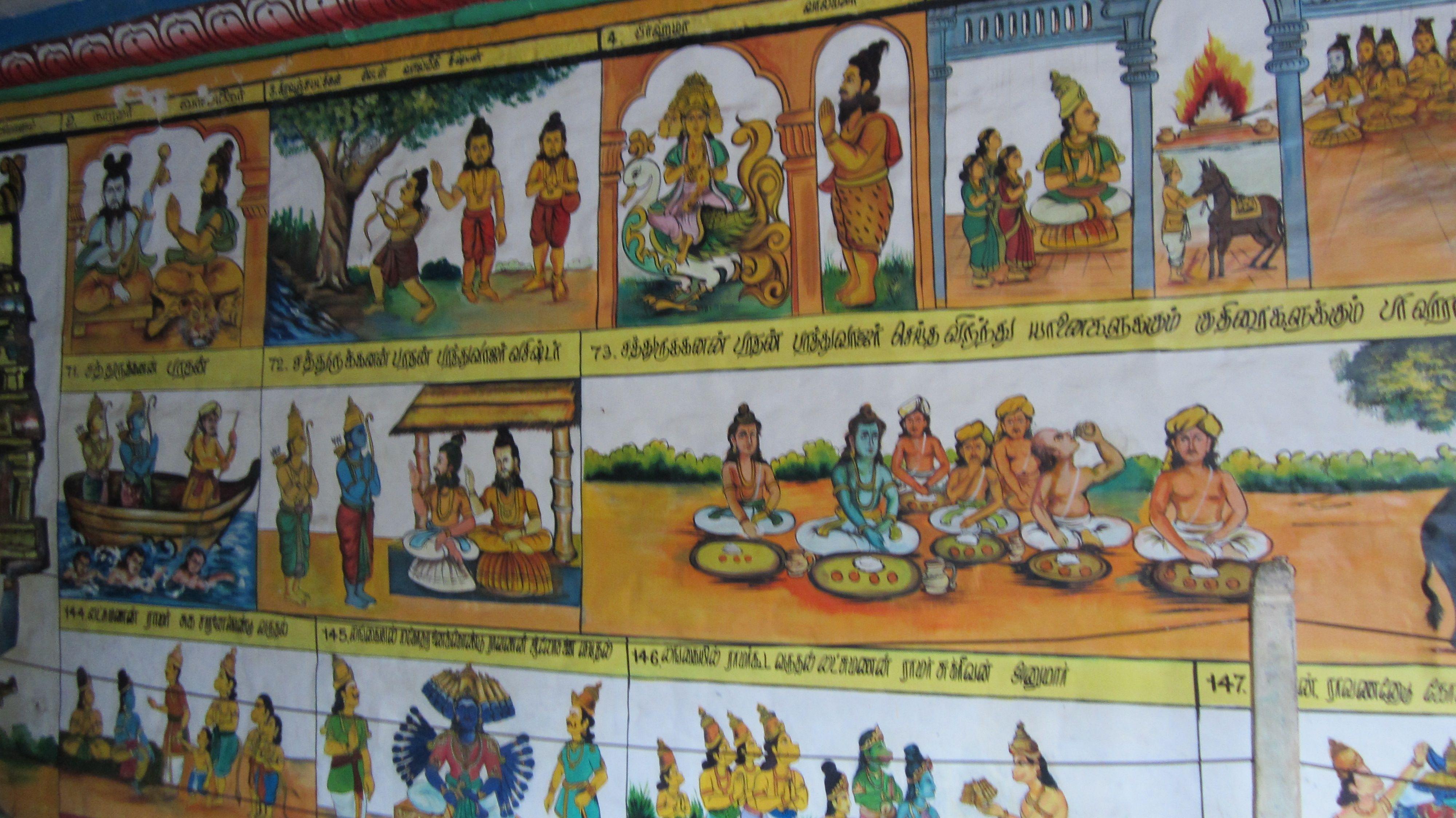Ramaswamy Temple - Kumbakonam - India - Ramayana paintings | Temple art,  Painting, Art