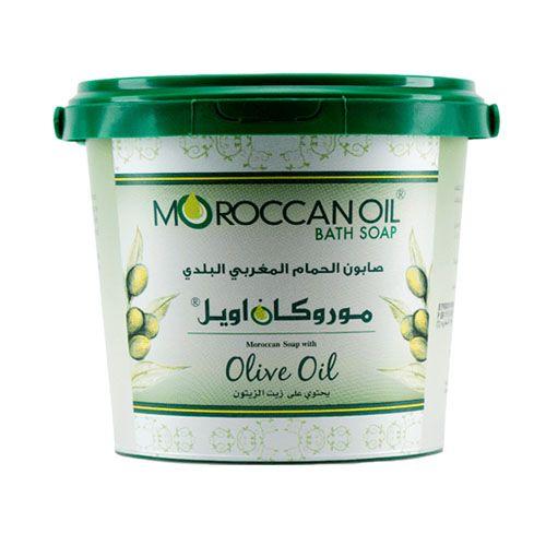 صابون الحمام البلدي المغربي بزيت الزيتون من موروكان اويل 850غ متجر راق Moroccan Oil Coconut Oil Jar Coconut Oil