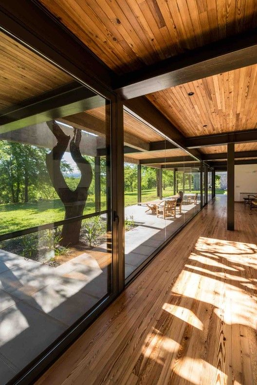 Gallery Of Gs House Mws Arquitectura 47 Steel Frame House Architecture House Modern House Design