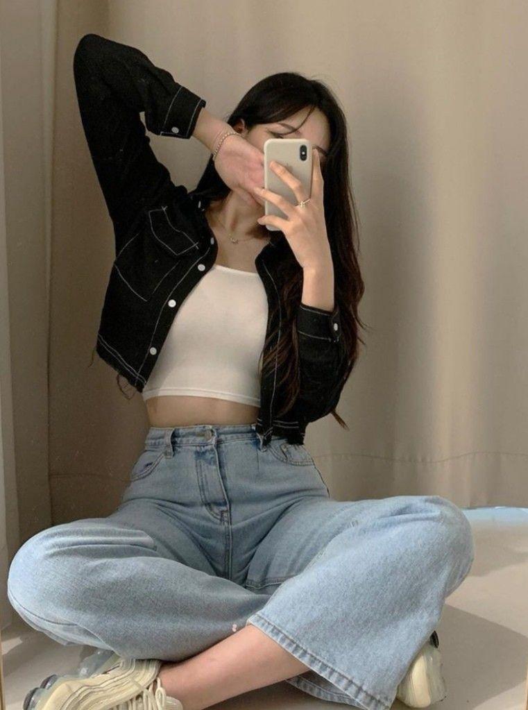 korean k fashion aesthetic outfits minimal minimalist ...