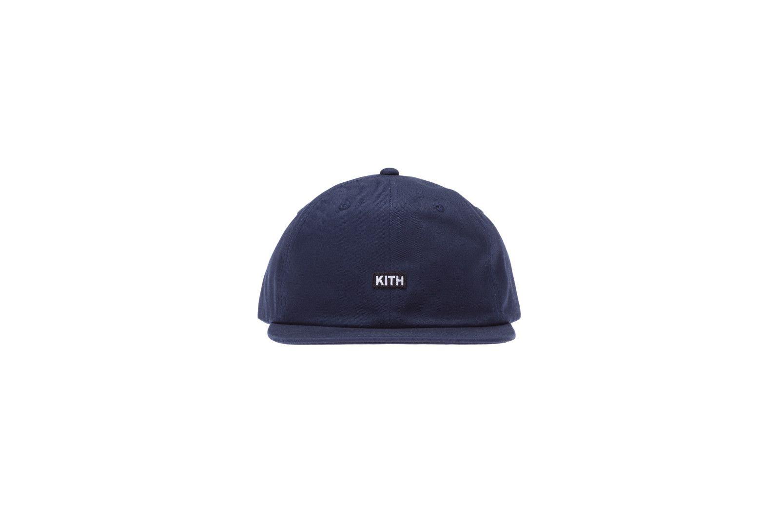 KITH Classics Mini Logo Strapback - Navy