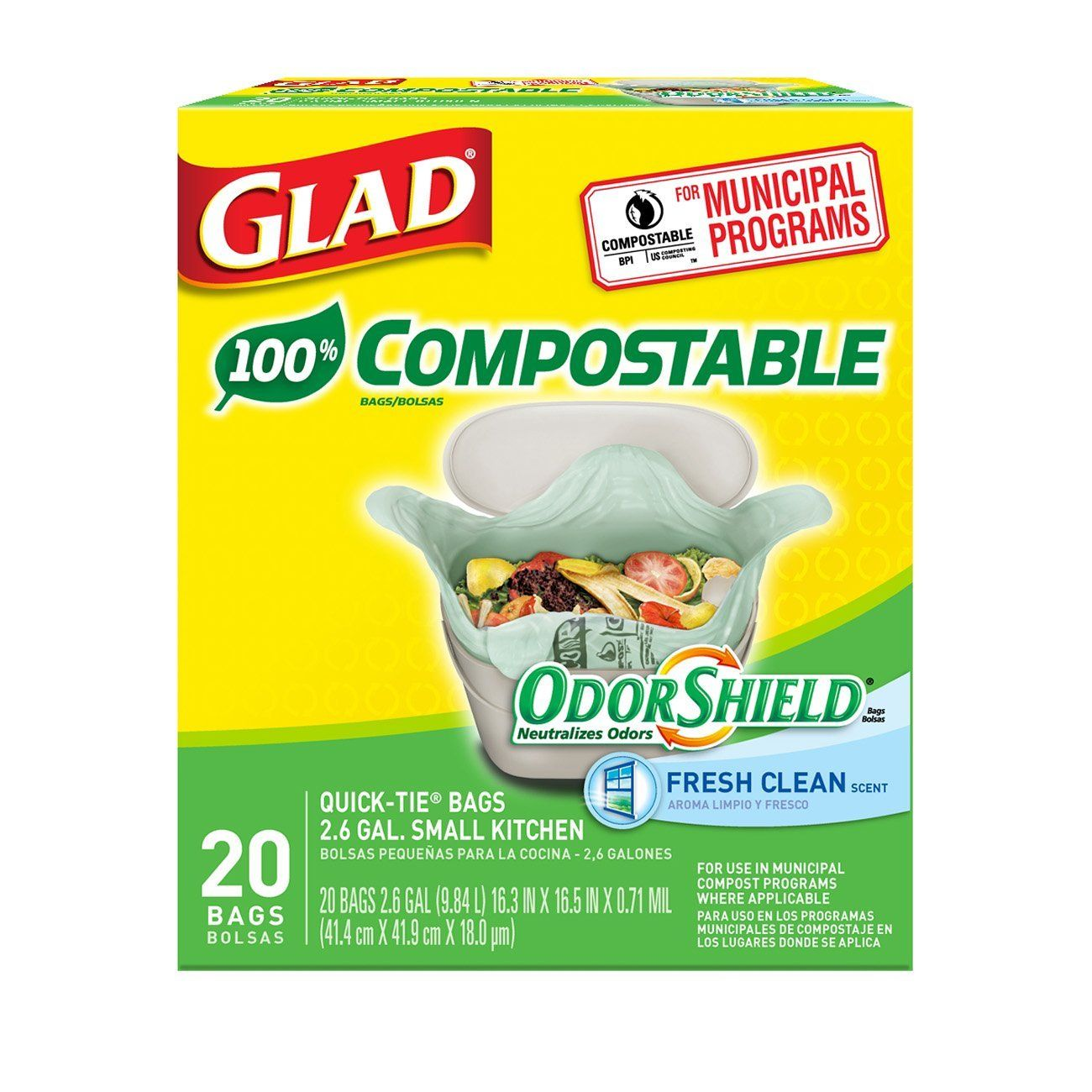 Image result for small compostable trash bags