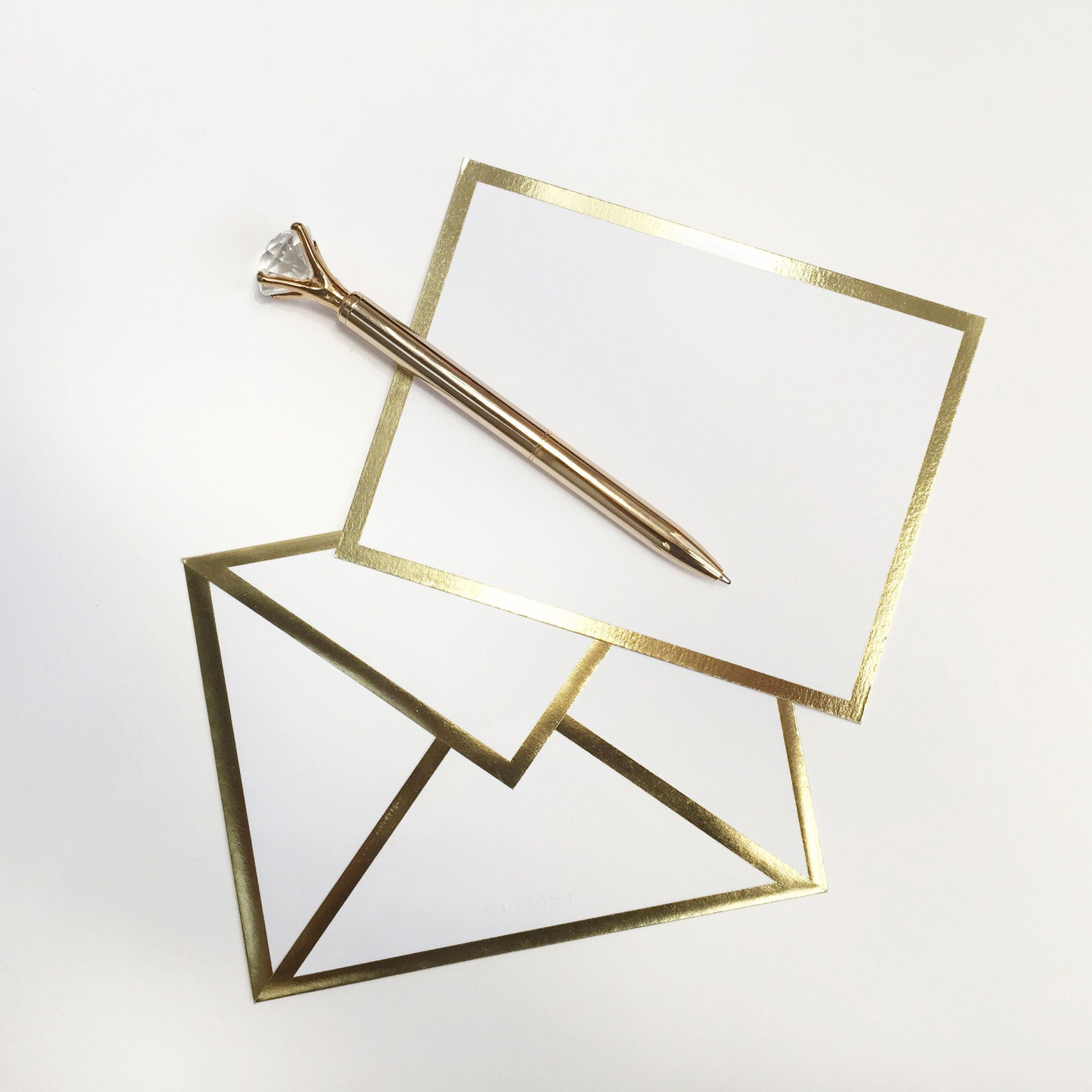 blank white card envelope crafts pinterest