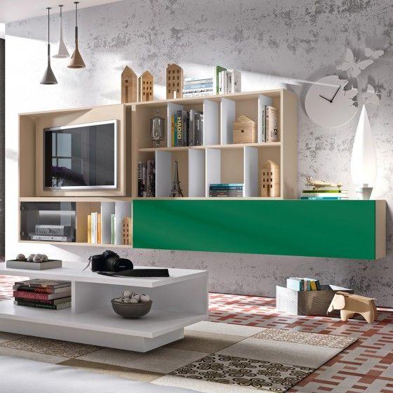 Meubles Tv Design Meuble Tv Mural Fizzy Atyla Fabrication Europeenne
