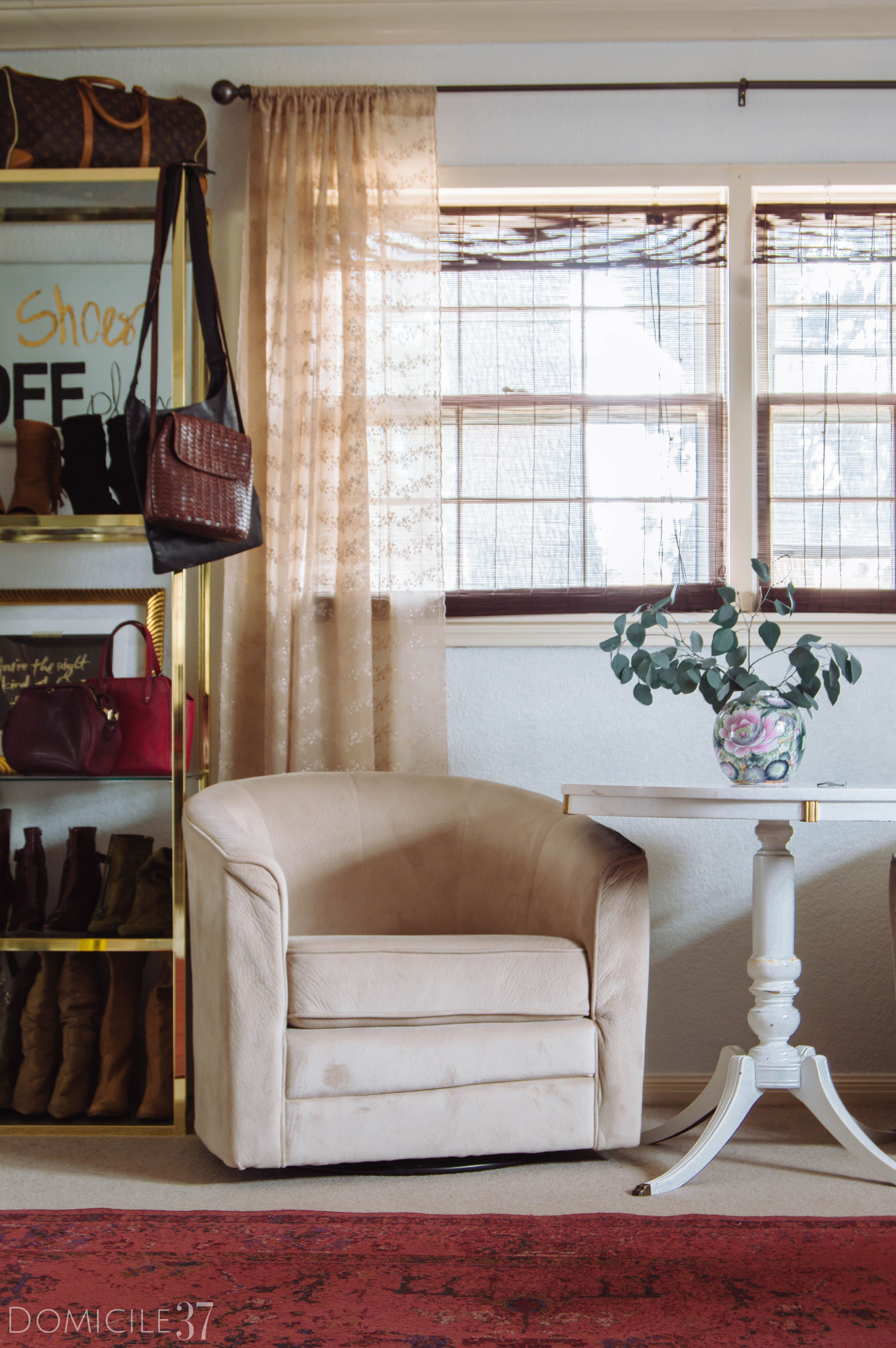 Modern Parisian Inspired Master Bedroom Domicile 37 Blinds Design Living Room Blinds Bedroom Blinds #vintage #curtains #for #living #room