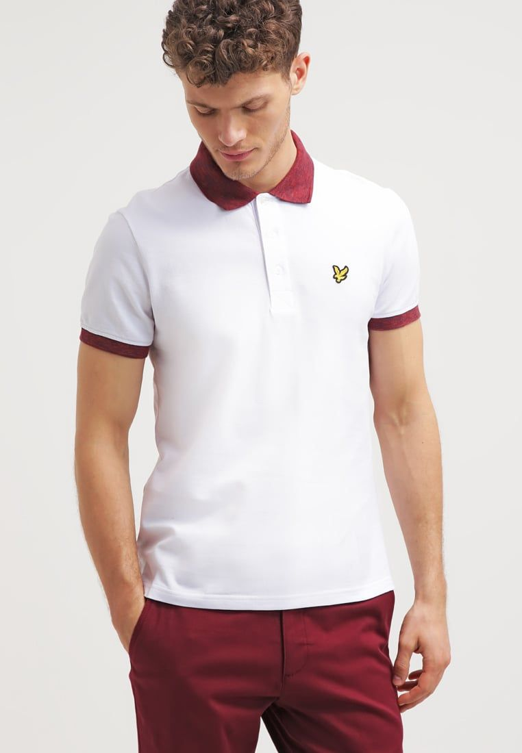 Lyle Scott Space Polo Shirt White Zalandocouk And Ampamp Red