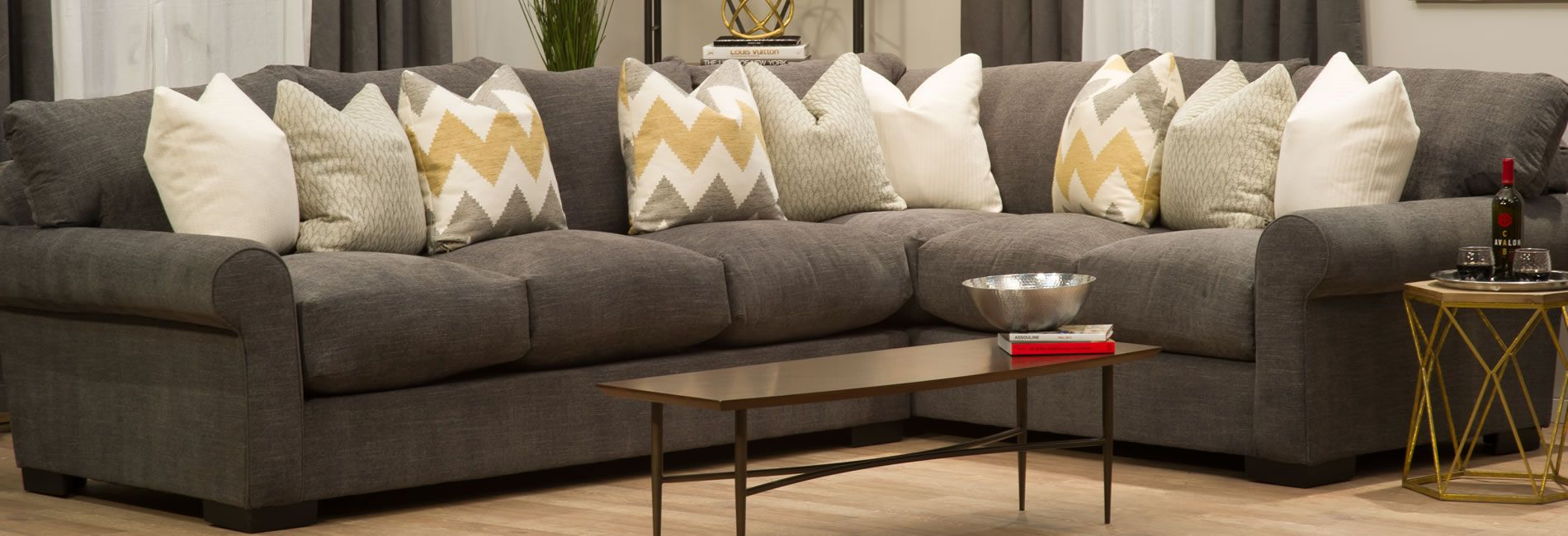 Michael Nicholas Destroyer Sectional Sofa