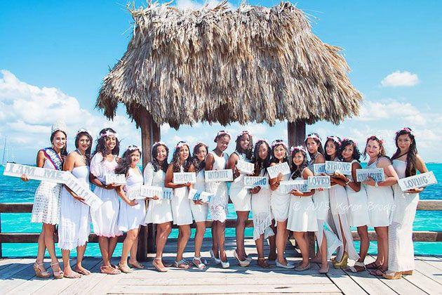 "AmbergrisToday.com | Belize| Ambergris Caye | Michelle Nunez empowers SHINE participants with ""I Am Me"" photo shoot"