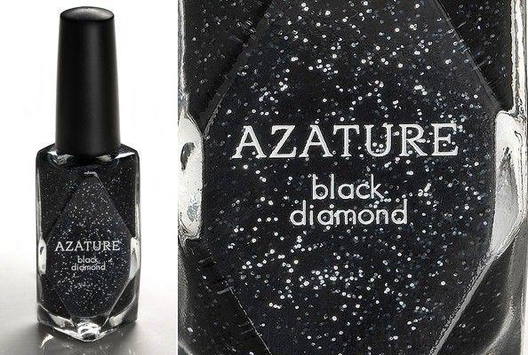 Un esmalte de uñas de 250 mil dólares hecho de brillantes negros @AZATURE