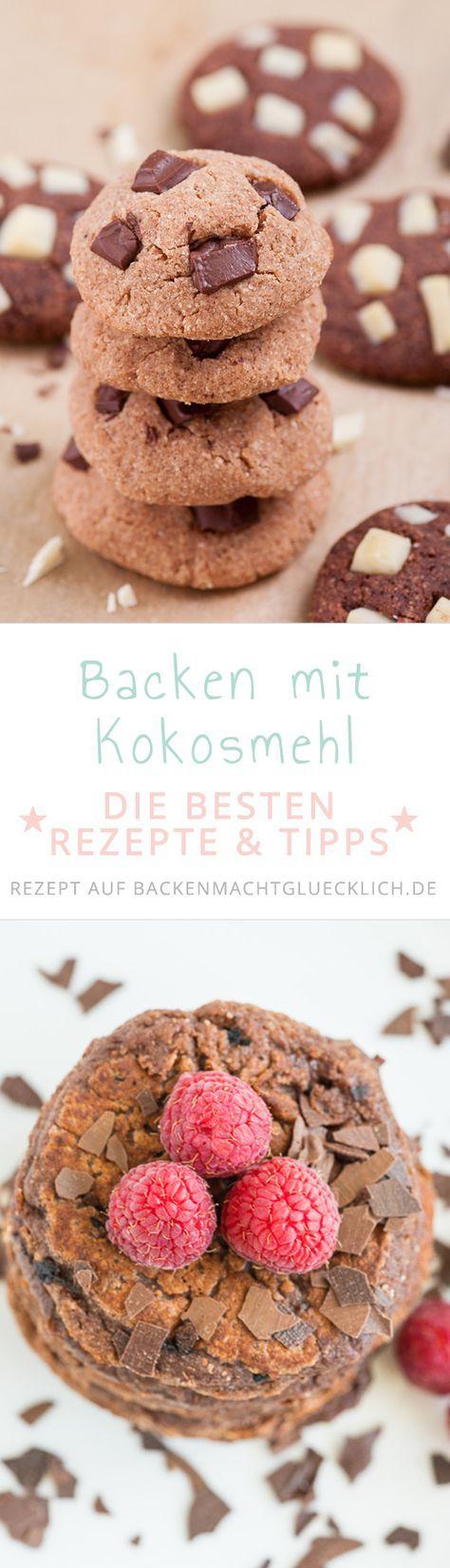 Backen Mit Kokosmehl Low Carb Pinterest Kokosmehl Kuchen