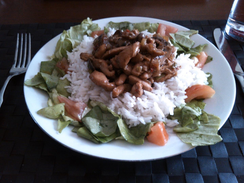 Menu van de dag – Kipreepjes met rijst   Medemblik Actueel