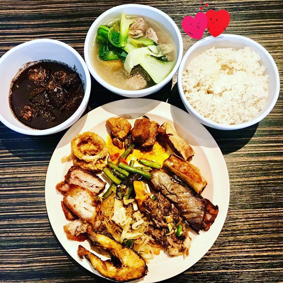 All You Can Eat Filipino buffet.