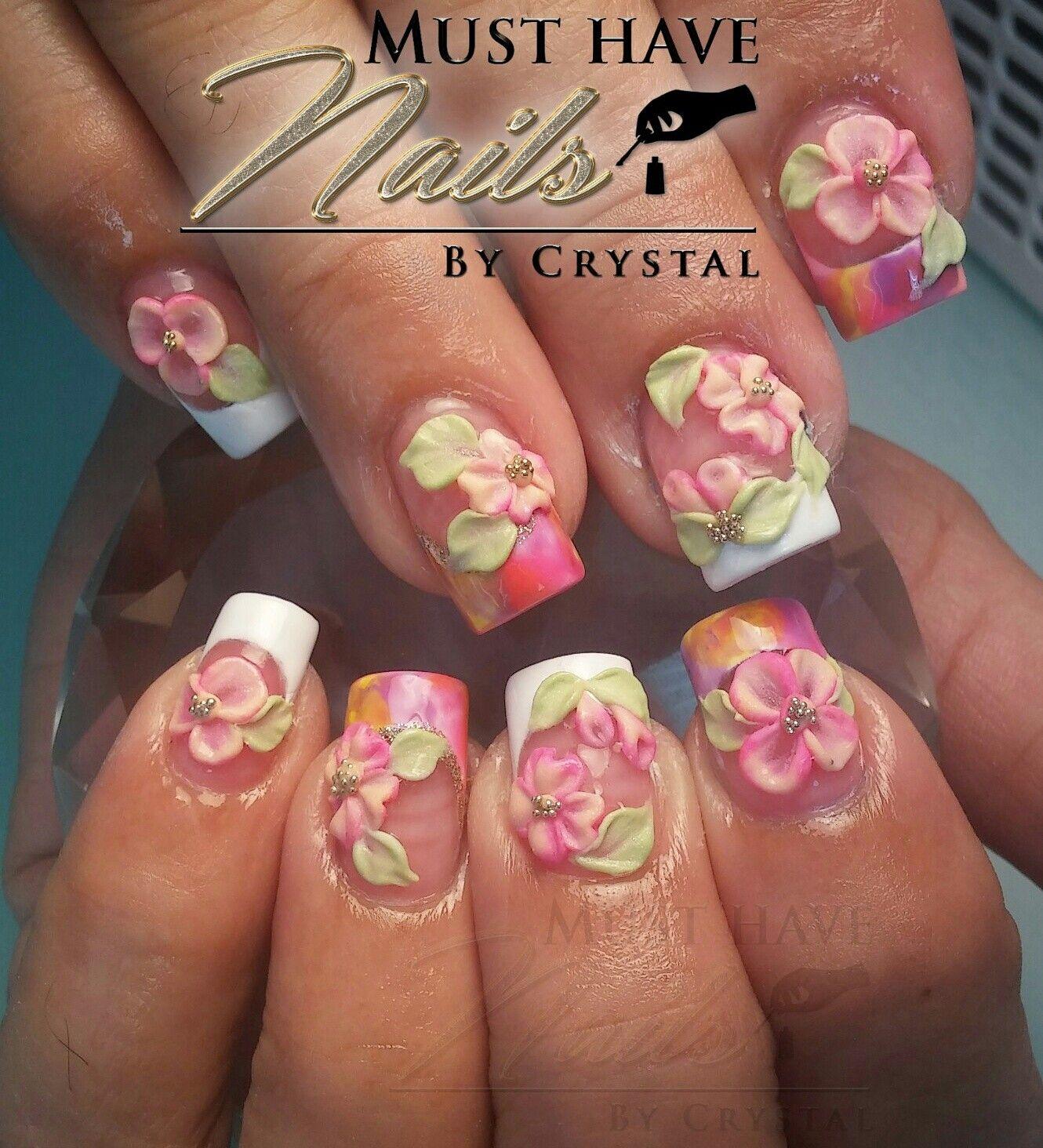 3d nail art | Must Have Nails By Crystal Morales | Pinterest