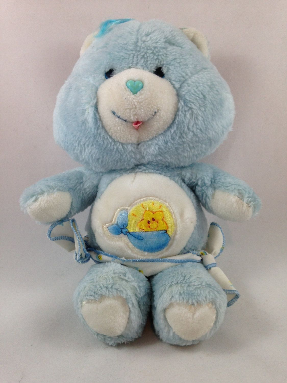 Original Care Bear 1983 Care Bear Plush Baby Tugs Bear Vintage Stuffed Animal Plush Kenner Toy 12 Plush Blue Care Bear Care Bears Plush Baby Plush Care Bear [ 1500 x 1125 Pixel ]