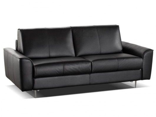 canap 3 places convertible express alphonse 100 cuir canap vente unique ventes pas cher. Black Bedroom Furniture Sets. Home Design Ideas