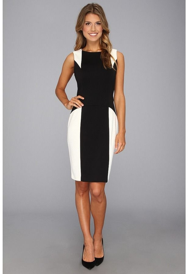 Black And White Party Dress By Calvin Klein Buy For 70 From 6pm