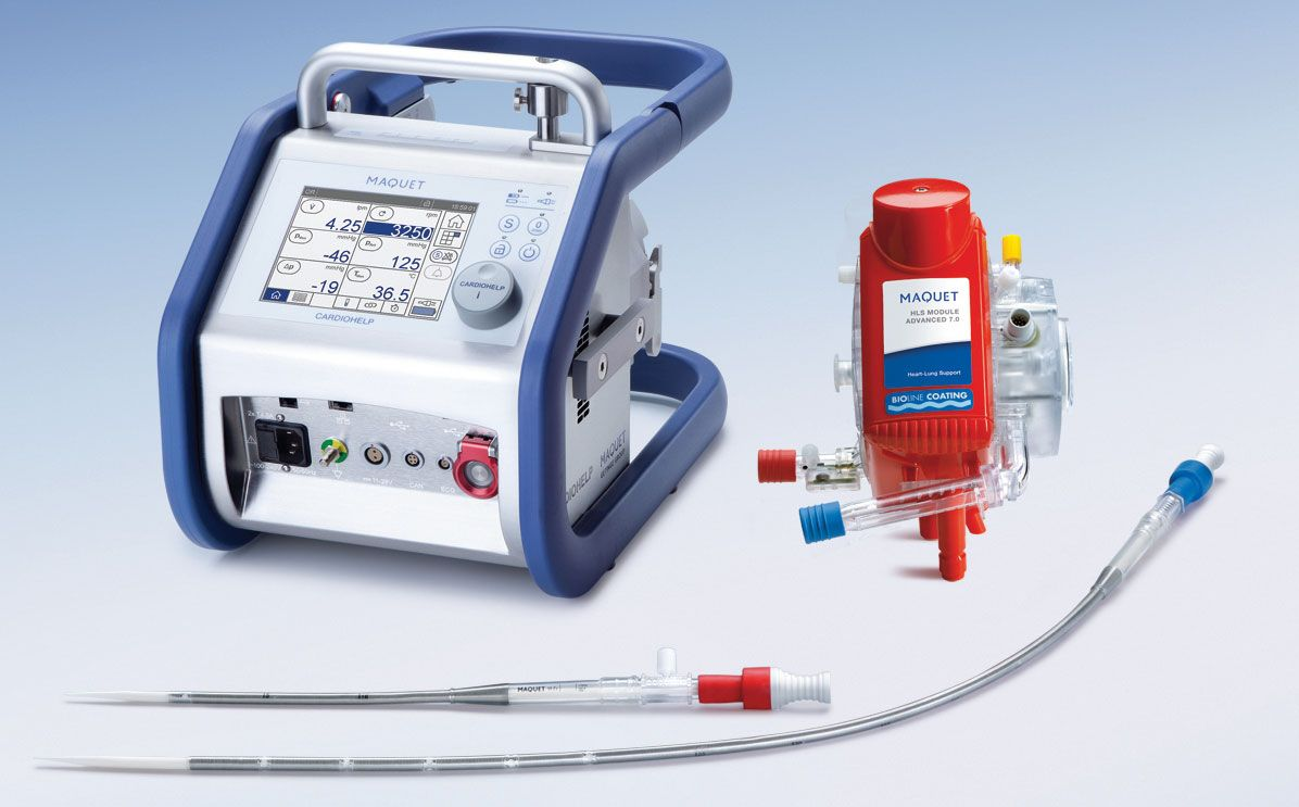 This is how small a Transport ECMO device can be. | ECMO ...