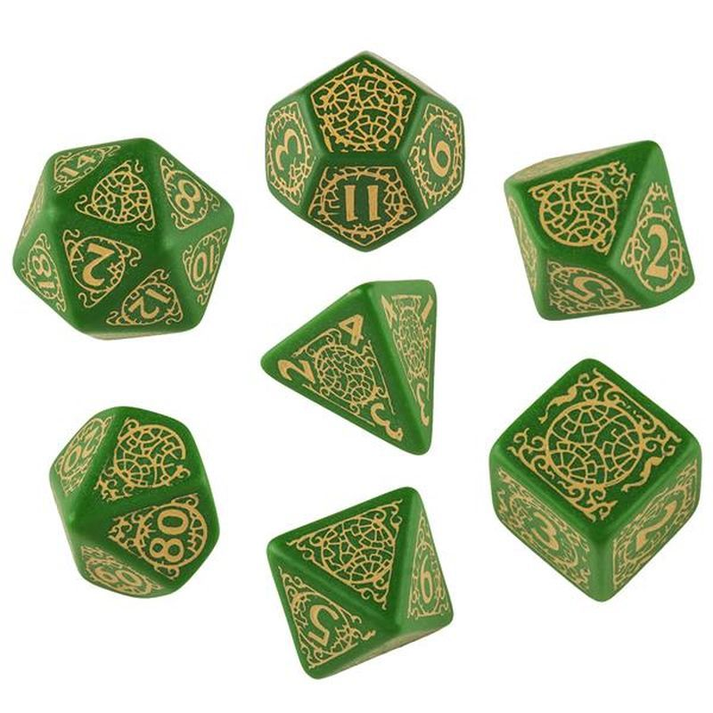 We really like the new Pathfinder Dice Set. You can get it in our store at www.wuerfel-stube.de #dice #rpg #game #pathfinder #roleplay