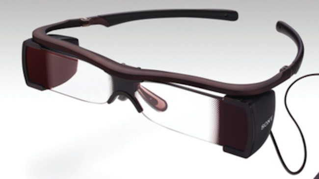 Sony's Entertainment Access Glasses help those with hearing loss enjoy a night at the movies.<br />