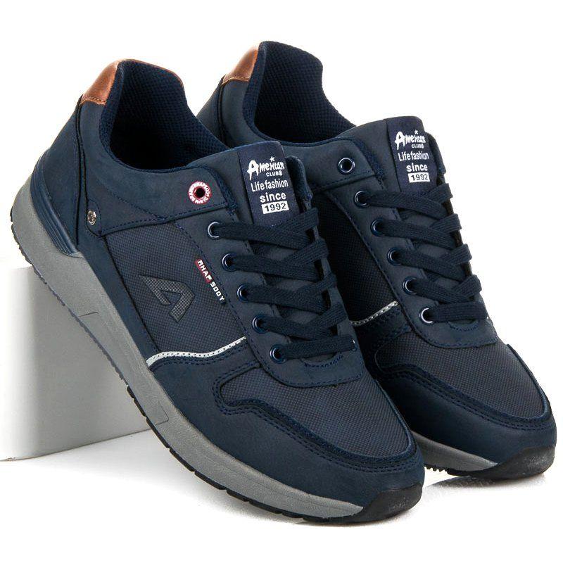 American Club Obuwie Sportowe Niebieskie Dc Sneaker Sneakers Shoes