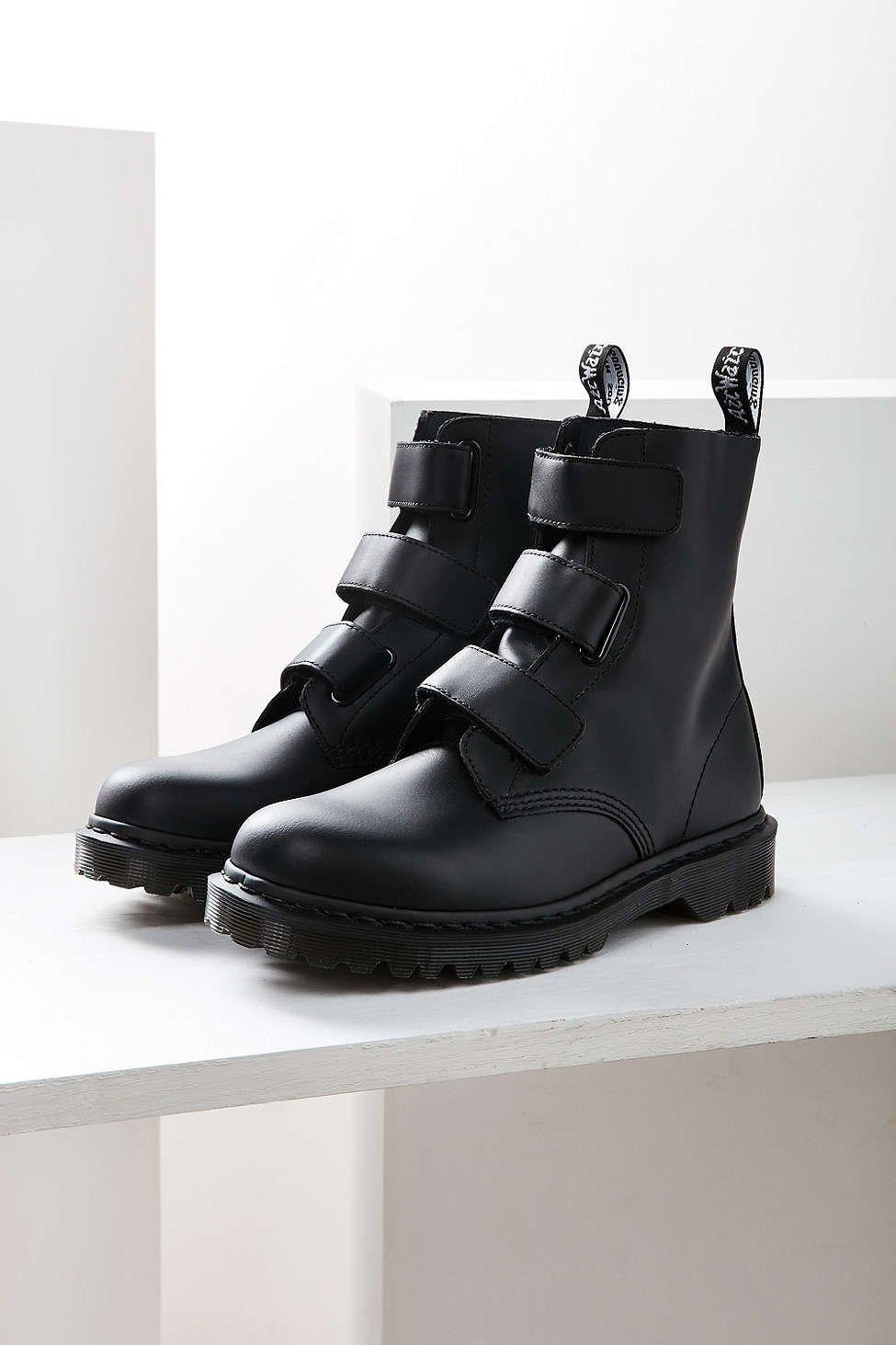 0f68c8579873 Dr. Martens Coralia Velcro Boot   Sinn   Boots, Shoes, Dr martens boots