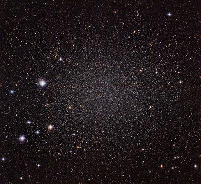 A shy galactic neighbour