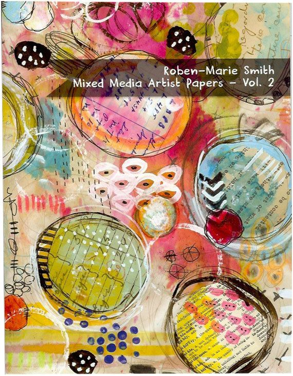 Roben-Marie has FANTASTIC  art which would make wonderful additions to any journal or scrapbook.