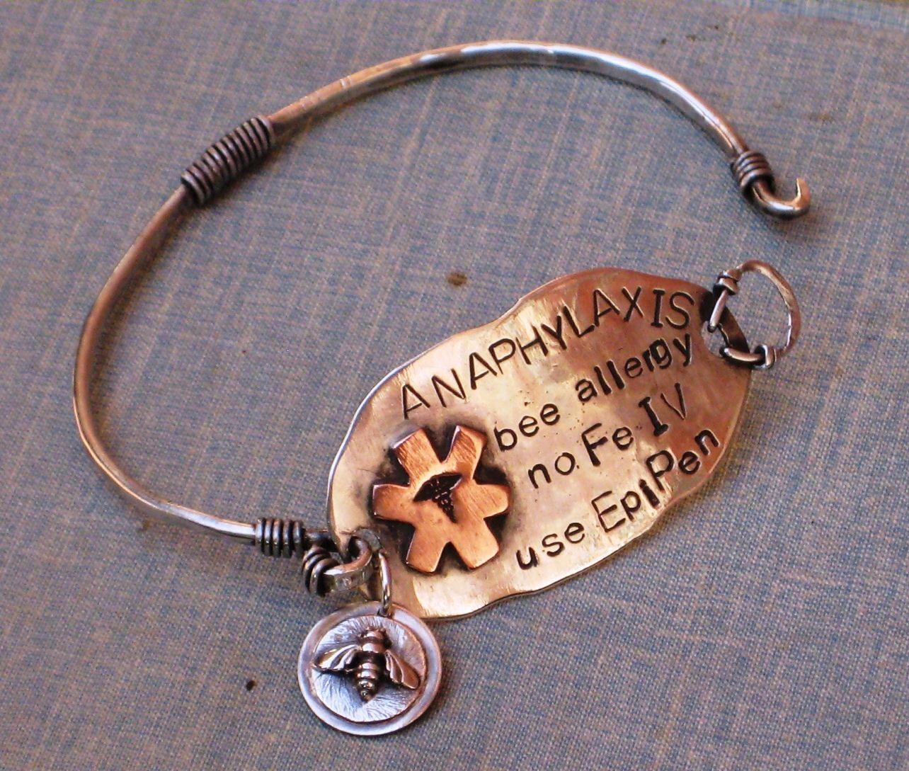 Medical Alert Jewerly Bw Silver Needing A Stylish Bracelet Stat