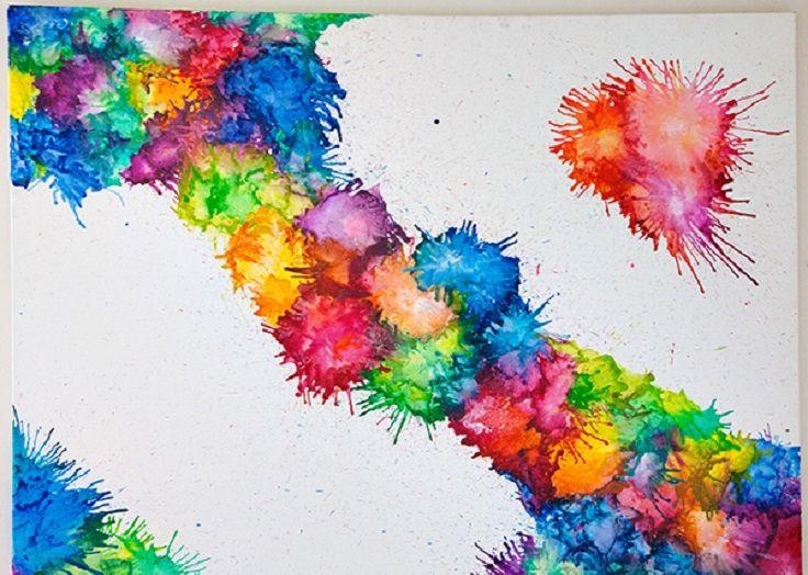 7 Colorful Crayon Crafts