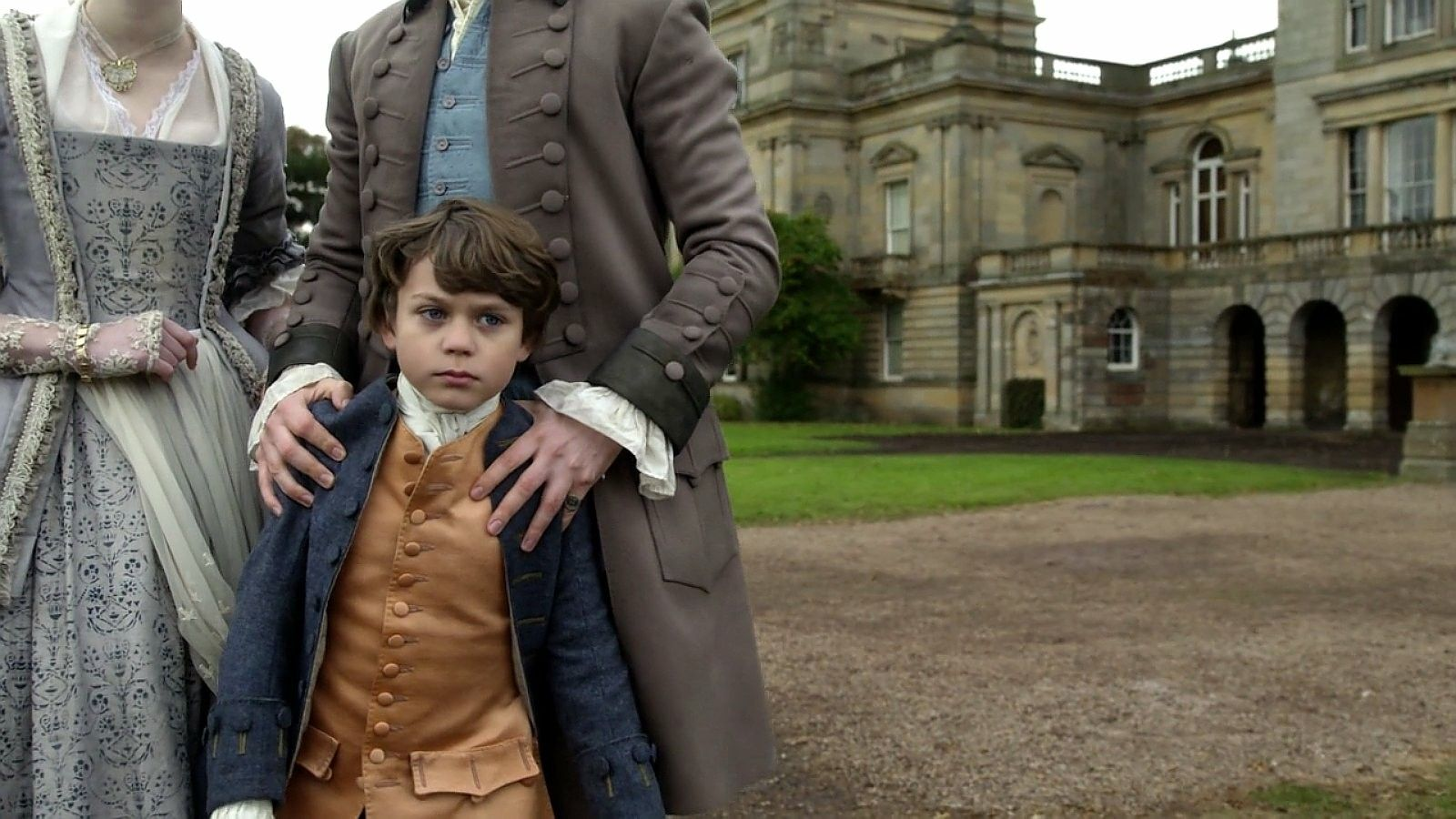 Clark Butler As Willie Of Outlander Starz Season 3 Voyager Episode 304 Of Lost Things At Helwater October 1st Outlander Outlander Show Outlander Season 3