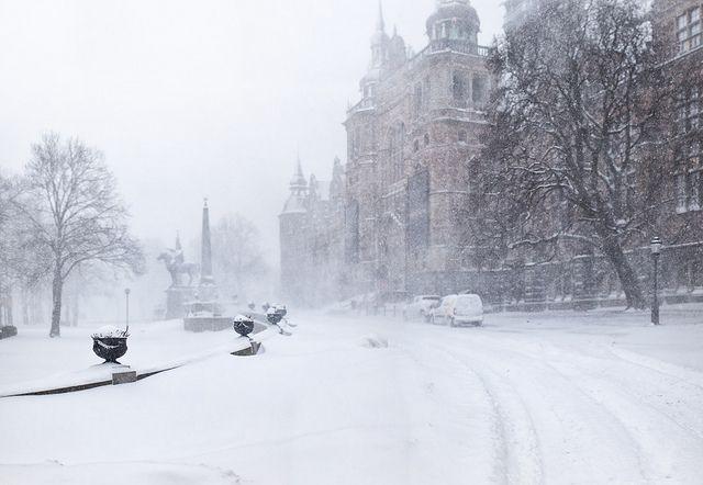 """melodyandviolence: """"Stockholm winter by Ulf Bodin """""""