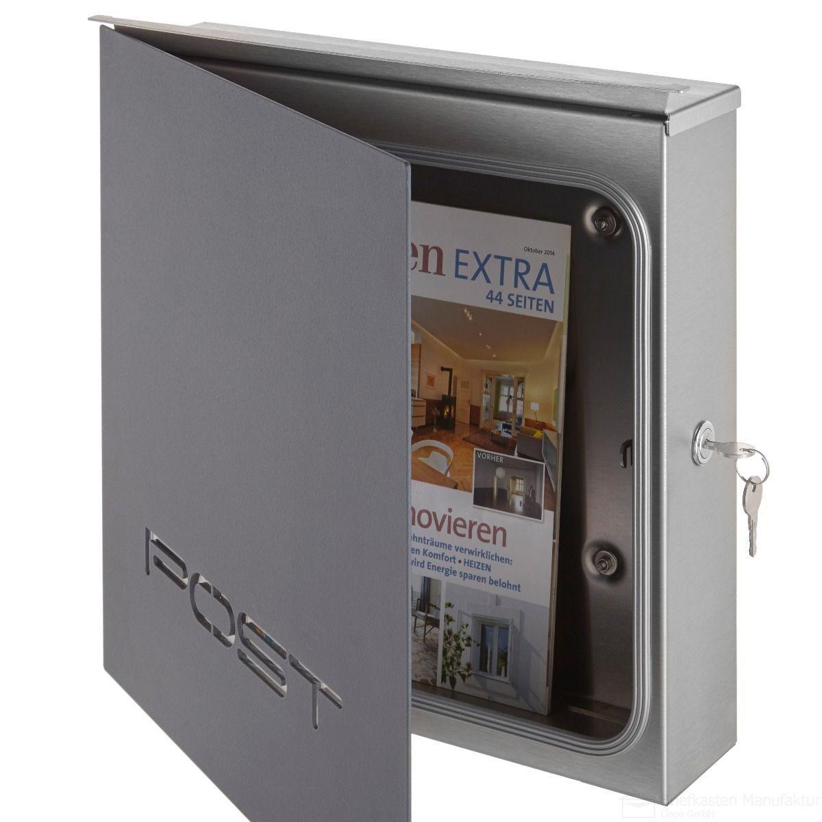 Edelstahl Design Briefkasten 226p A Exclusive Design Linie Post Ahnlich Ral 7016 Anthrazitgrau 226pa Ahnlich Anthrazitgrau Briefkas In 2020 Design Briefkasten Briefkasten Und Briefkasten Edelstahl